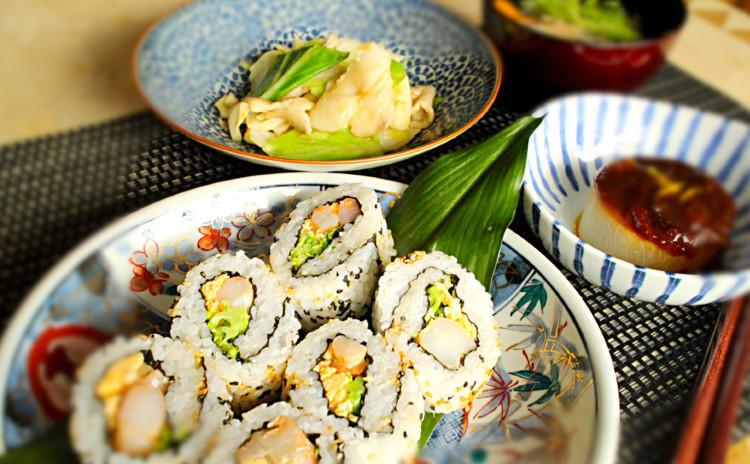 【リバイバル】失敗なし!裏海苔巻きと沢煮椀の和献立~たっぷりお出汁の使い回し方法