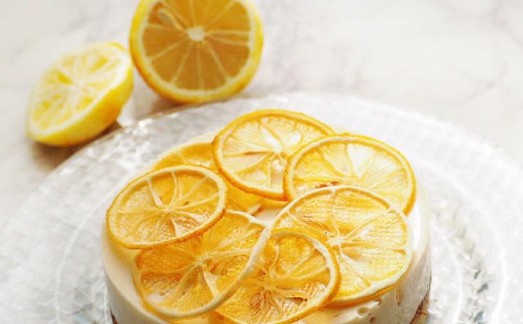 爽やかレモンムースケーキ