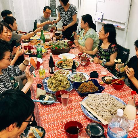 新潟名物へぎ蕎麦を食べる会