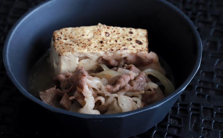 肉豆富 チキン南蛮 新玉ねぎ胡麻和え キノコワイン