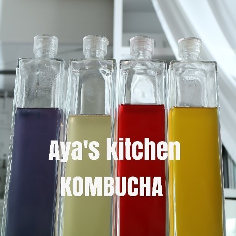 【Kombucha株分け】色とりどりのKombuchaシャンパン
