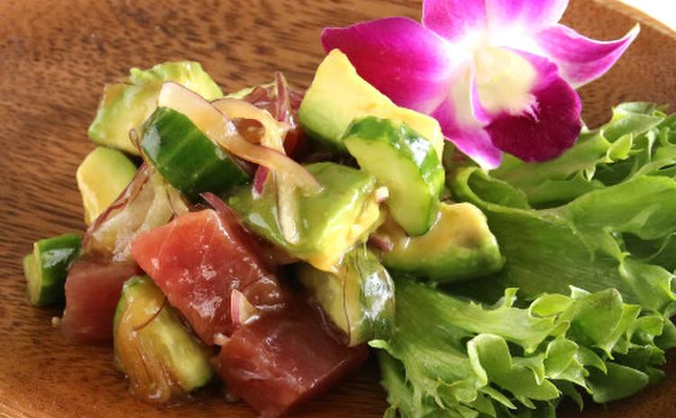 ハワイのローカルフード♪アヒポキ