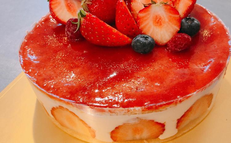 フランス版ショートケーキ 豪華フレジエのレッスン♪