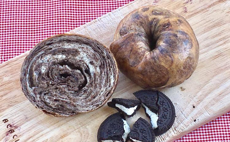 ホシノ天然酵母でいろんなベーグルを楽しもう!ブルーベリー、パイナップル、オレオクッキー!
