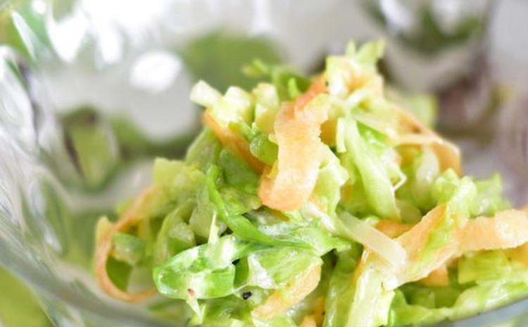 春色のコールスローサラダ