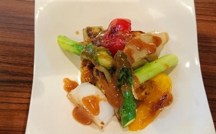 春の焼き野菜サラダ