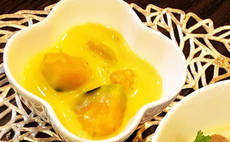 お家でレストラン。オリジナルソースから作るパッタイ&鶏肉レモンクラス香りココナッツミルクスープ&デザートのかぼちゃココナッツミルク煮