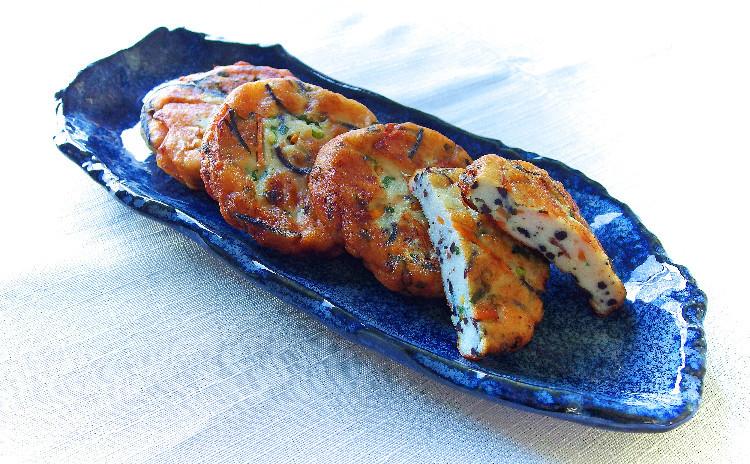 イカ飯とふんわり手作りさつま揚げ、あると嬉しい基本の野菜小鉢3種