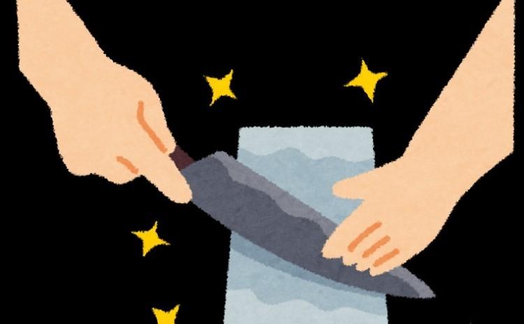 ◆包丁研ぎ講座 研ぎ師から学ぶ! 砥石を使って包丁研ぎ