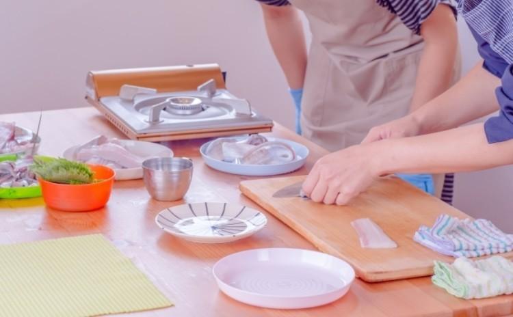 ◆魚のさばき方 初級者向け 下処理 三枚おろし 刺身の切り方など