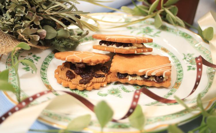 ワンランク上の焼き菓子を作りましょう~レーズンサンド&コンヴェルサシォン