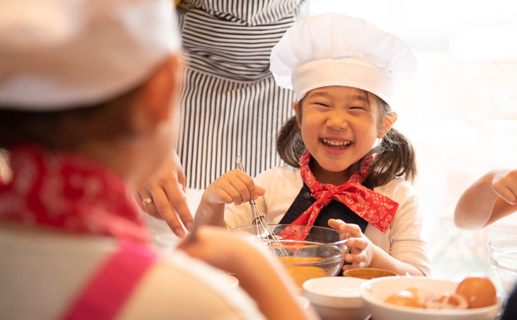 【2歳からOK子ども料理!】生地から手作りこいのぼりサクサクピザ