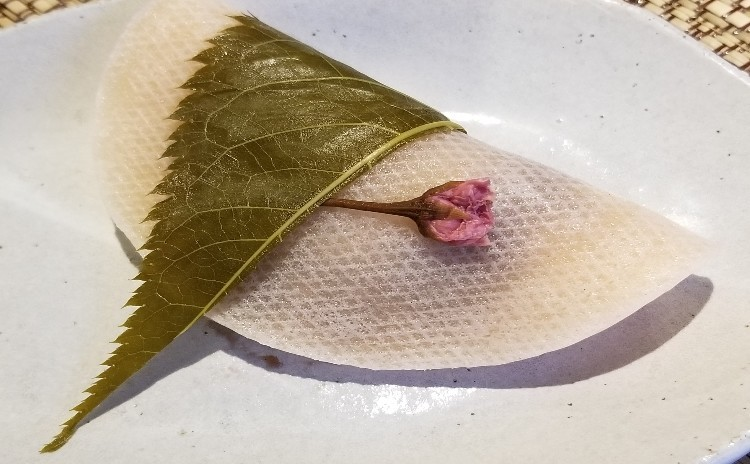 桜が咲きました!桜餅を作りましょう!!憧れの和菓子作り
