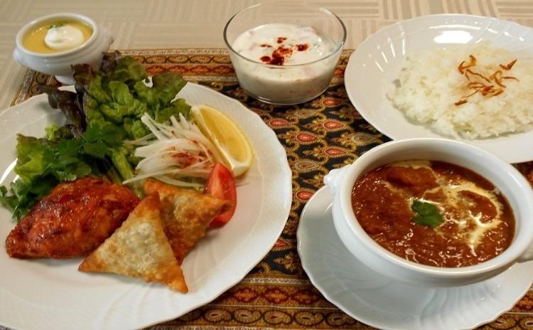 スパイスの香りと風味を楽しむインド料理