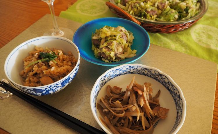 【料理教室:実習あり】旬のお野菜を時短で★新ごぼうでご飯ときんぴら&キャベツ焼売