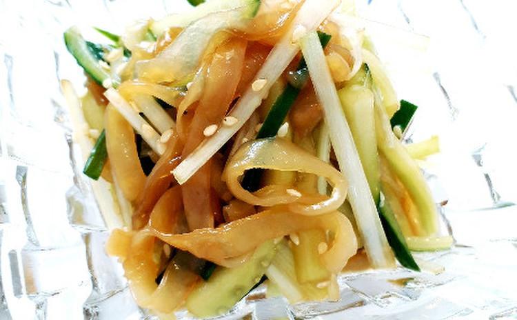 クラゲの冷菜(単品定価:8,500円)