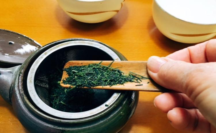ホシノ酵母で作る緑茶あんぱん&煎茶・玉露のおいしい淹れ方 緑茶あんぱん4個・緑茶あんぱん10個分生地・酵母持帰り付