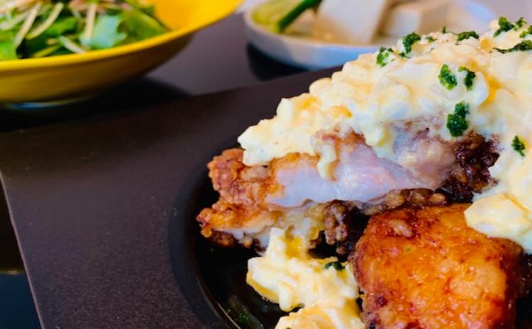 ハマる!タルタルソースたっぷりチキン南蛮&高野豆腐の含め煮他で勝負料理!