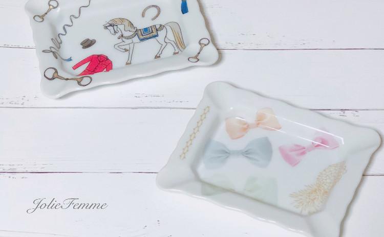 【お得に体験レッスン!】〜はじめてポーセラーツをやってみたい!という方へ〜可愛い小皿を作ります♡ティータイム付♡