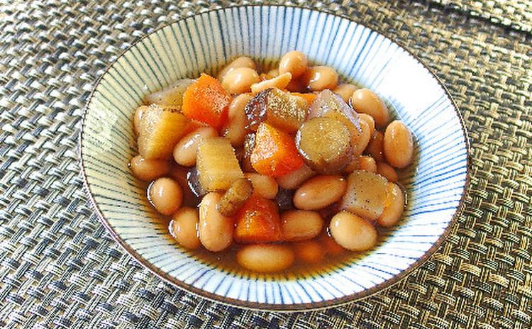 おふくろの味 お豆の五目煮
