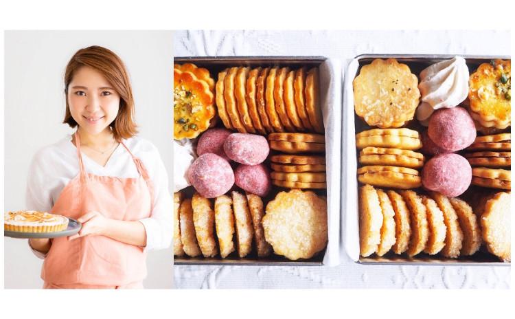 GWのおもたせにぴったり!春のクッキー缶レッスン♪ 【4/5発売 レシピ本『レモンのお菓子づくり』付き】