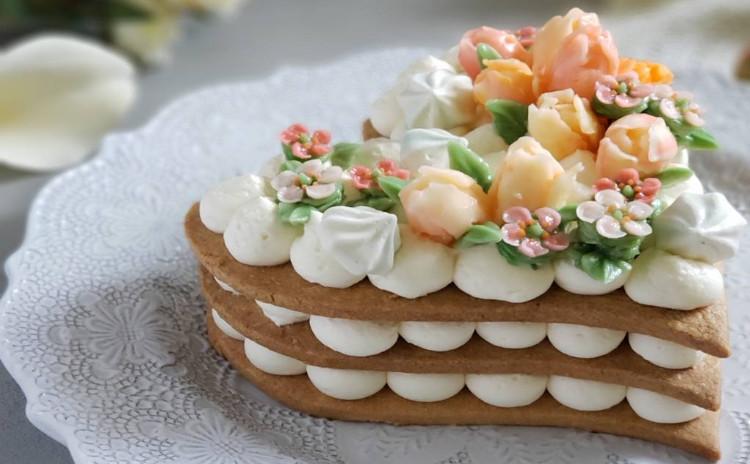 フラワーナンバーケーキ♪
