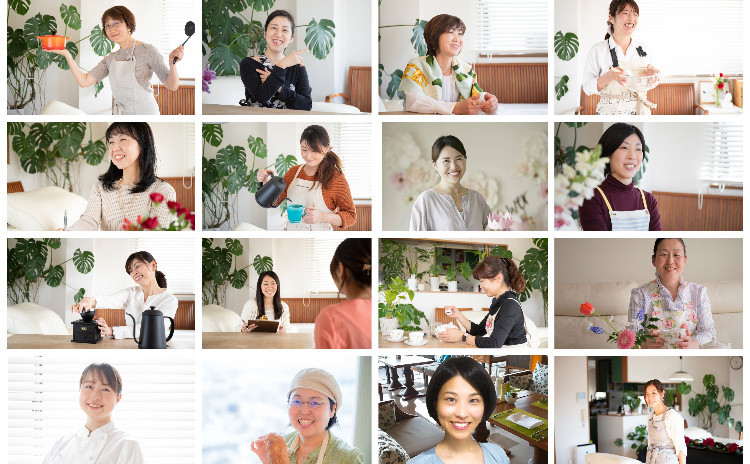 bonnecuisineプロデュース☆料理研究家13名による『初夏のおもてなし』レッスン