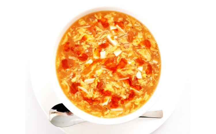 【お砂糖不使用★ヘルシー中華】①ホタテとブロッコリーと長芋のオイスターソース炒め、②スープから作る具沢山トマト酸辣湯(サンラータン/酸っぱ辛いスープ)、③砂肝の中華和え