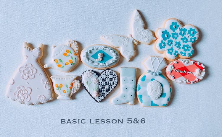 充実の1dayアイシングクッキー基礎レッスン⑤⑥お土産付き♪