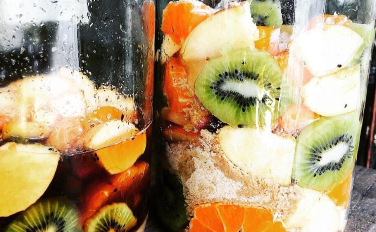 季節の果実でつくる酵素シロップ