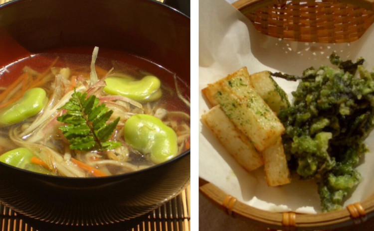 新緑の和食〜出汁の取り方、焼き物、揚げ物など基本をしっかり