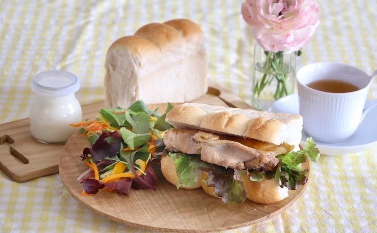 ふわふわ食パン&照り焼きチキン&ヨーグルトムース お土産付き♪