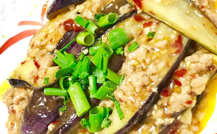 ナスのチリソース炒め(魚香茄子)
