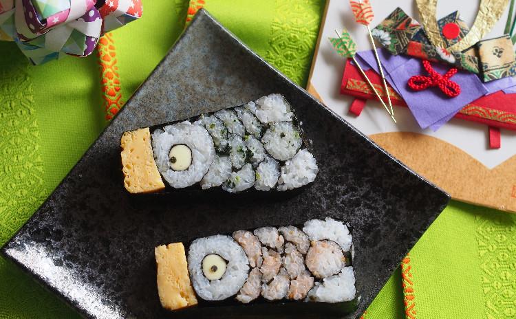 行楽弁当にぴったり飾り巻き寿司レッスン