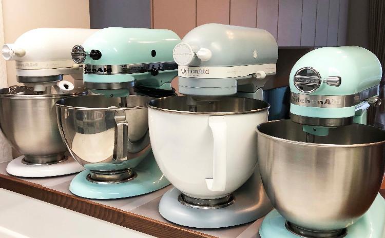 キッチンエイドスタンドミキサーを使ってお菓子、お惣菜、麺作りをしましょう♪ NO.2