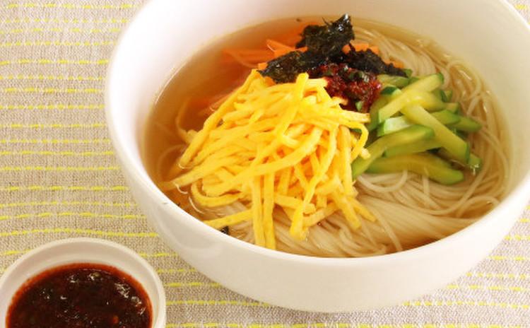 〆は韓国定番の味!ジャンチクッス  辛さはお好みで♡
