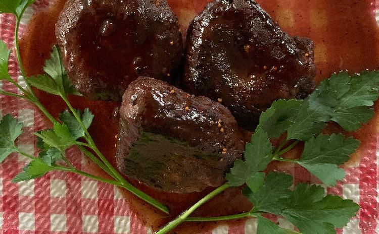モッツァレラチーズとエリンギの牛肉包み