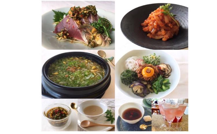 初夏のスタミナ韓国料理