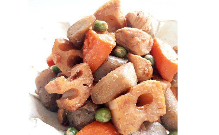 【お砂糖不使用★ヘルシー和食】①肉詰めピーマン&椎茸、②筑前煮、③三つ葉の酢の物