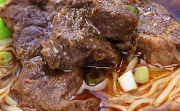 スパイシーな牛肉麺