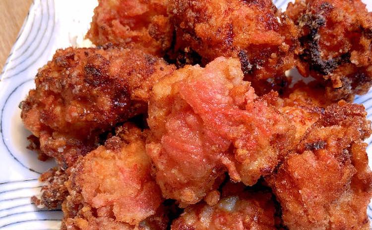 塩麹と紅生姜の唐揚げ