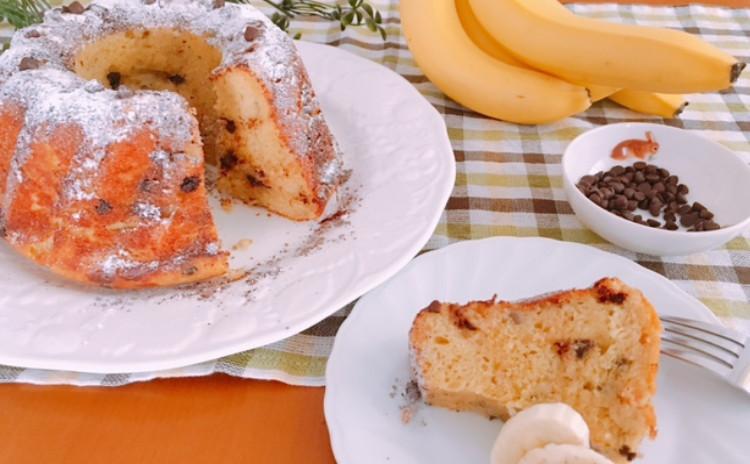 ホシノ天然酵母で作るバナナクグロフ クグロフ大(18㎝)1/4台・クグロフ大(18㎝)台分生地・クグロフ大1台分酵母持帰り付
