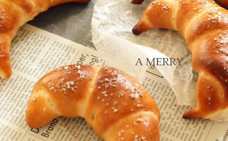 【ランチ付】リクエスト開催♪人気の塩パンとメープルクッキークリーム