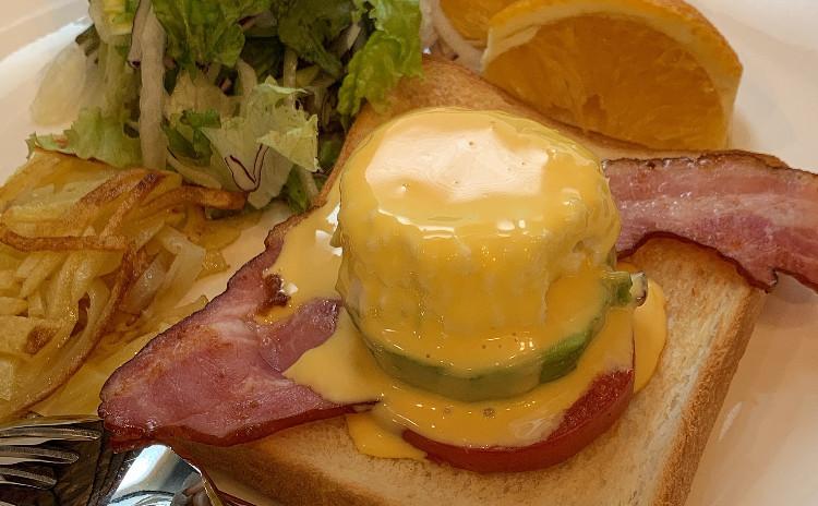 おうちでカフェごっこ☆家族が喜ぶ朝ごはん❗️超ヘルシー簡単本格エッグベネディクト