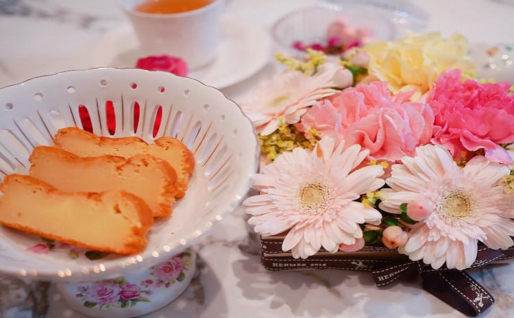 母の日に手作りフラワーボックス&糖質オフ グルテンフリーチーズケーキレッスン