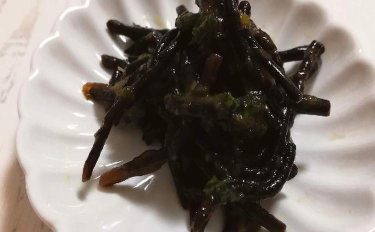 ハマる方続出中💕長ひじきと海苔のサラダ