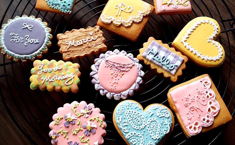 可愛くて美味しい♪アイシングクッキーを作りましょう
