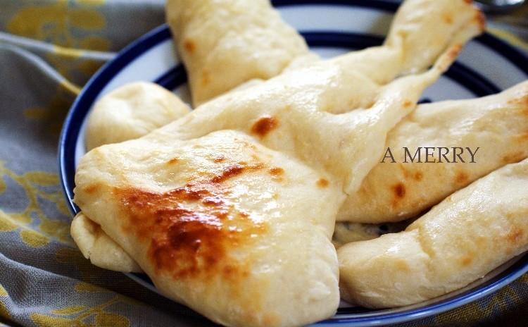 【ランチ付】お洒落♡パリ風メロンパンとオーブンで焼くふわふわナン&4種のスパイスで作るキーマカレーも同時に‼