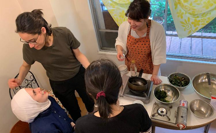 英語で料理!国際交流しながら料理しよう!~紅茶のシフォンケーキとパスタ~