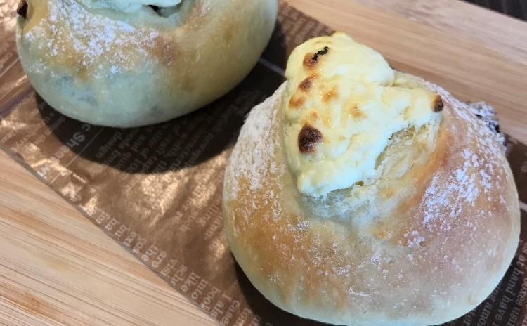 ベーコンエピ&チーズパン